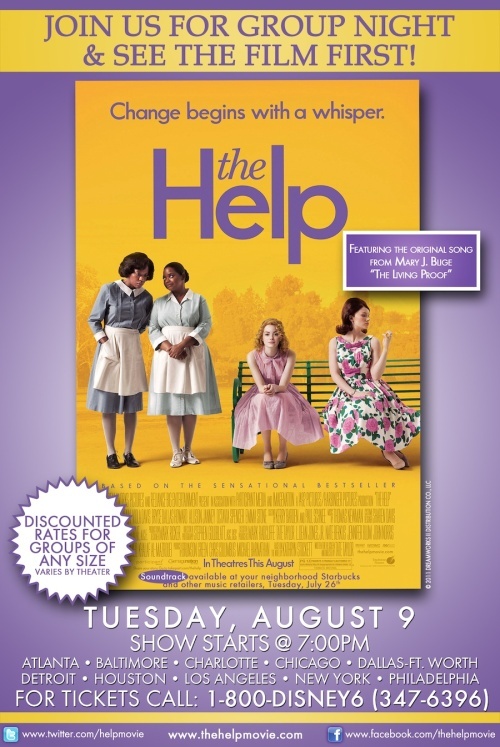 The Help – Reads and Reels! – Just the Two of Us