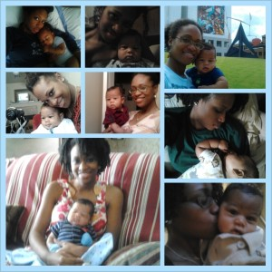 My Booski and He Mommy